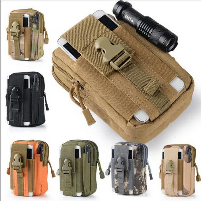 糖衣子輕鬆購【DZ0355】戰術腰包/型男迷彩手機收納包軍事迷戰術包腰包運動腰包