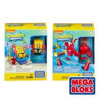 海綿寶寶兒童玩具推薦到MEGA BLOKS 美高 海綿寶寶主題積木組(款式隨機出貨)★衛立兒生活館★就在衛立兒生活館推薦海綿寶寶兒童玩具
