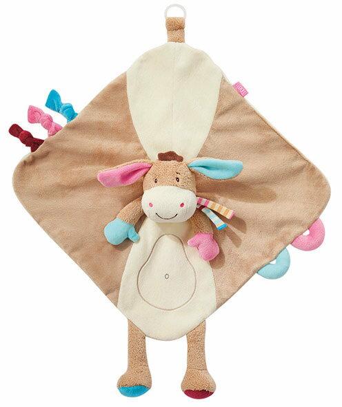 babyFEHN 芬恩 - 叢林夥伴小驢安撫布偶奶嘴巾 2