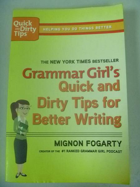 【書寶二手書T3/大學教育_IRT】Grammar Girl's Quick and Dirty Tips for Be