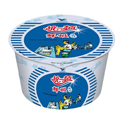 統一鮮蝦風味碗麵3入【愛買】