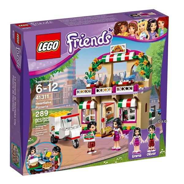 樂高積木LEGO《 LT41311 》Friends 姊妹淘系列 - 心湖城披薩屋
