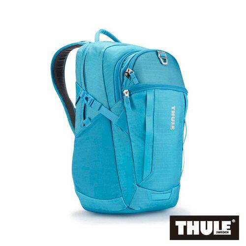 【THULE 都樂】EnRoute Blur 多功能17吋雙肩後背包 TEBD-117-藍