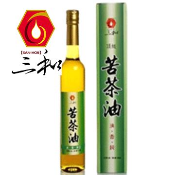 【三和】頂級冷壓初榨苦茶油400公克 / 精裝瓶