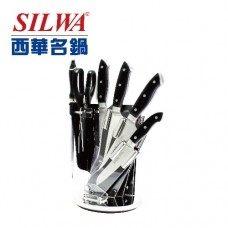 西華 七件式鍛造刀具組(壓克力旋轉刀架) 原價$3980 特價$2980