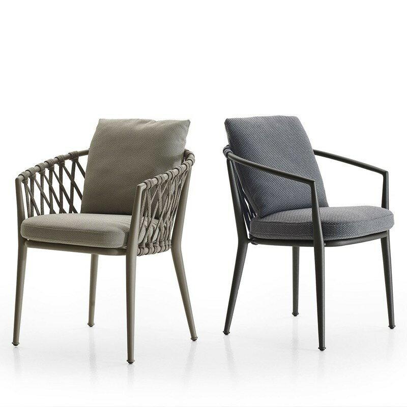 戶外藤編桌椅三件套組合餐椅創意庭院花園室外椅休閑陽臺藤椅 愛尚優品