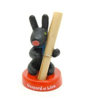 【真愛日本】6122200063卡斯伯立體造型筆座GaspardetLisa筆筒筆座收納架文具收納