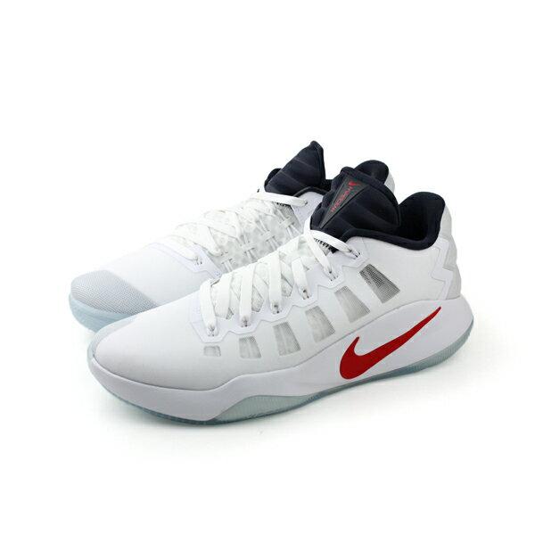 NIKE 籃球鞋 男鞋 白色 no409