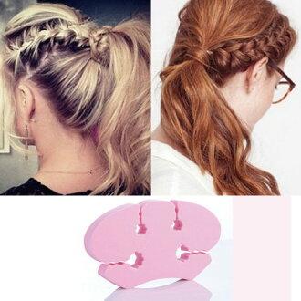 PS Mall 韓國法式編髮器編髮夾造型工具高密度泡沫麻花辮編髮器【QQ203】