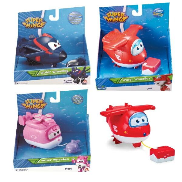 【Superwings】夏日派對洗澡玩具(3款)