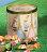 【PASTIGLIE LEONE里歐雷糖果】圓罐兔子浮雕鐵罐★綜合水果軟糖★ - 限時優惠好康折扣