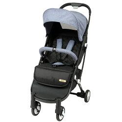【麗嬰房】法國 Looping Squizz II 單向秒收嬰幼兒手推車-煙波藍