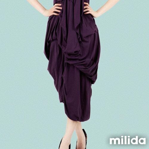 【Milida,全店七折免運】-春夏商品-無袖款-露背小禮服 3