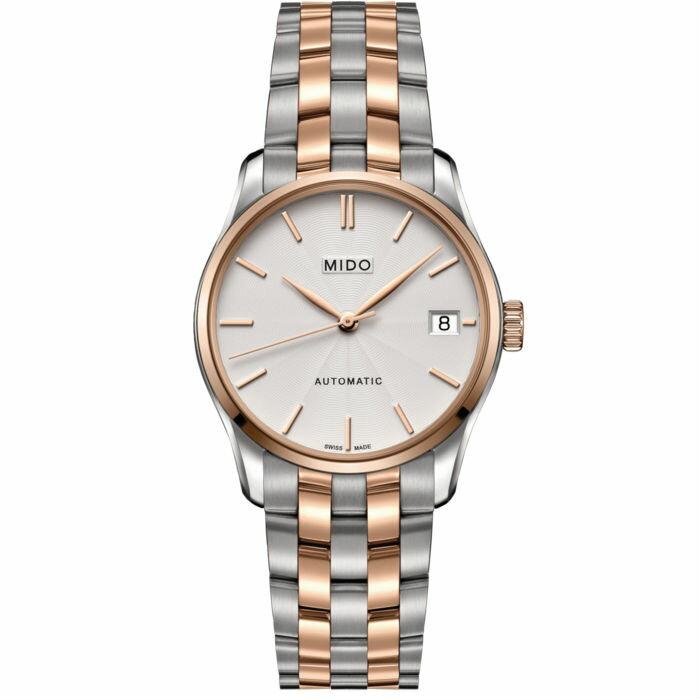 Mido 美度錶 M0242072203100 Belluna雅致女士機械腕錶  /33mm