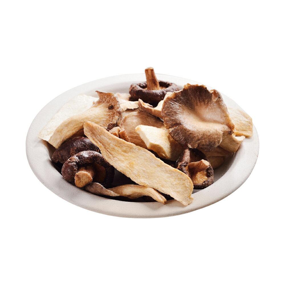 罐裝綜合菇脆片120公克【每日優果】