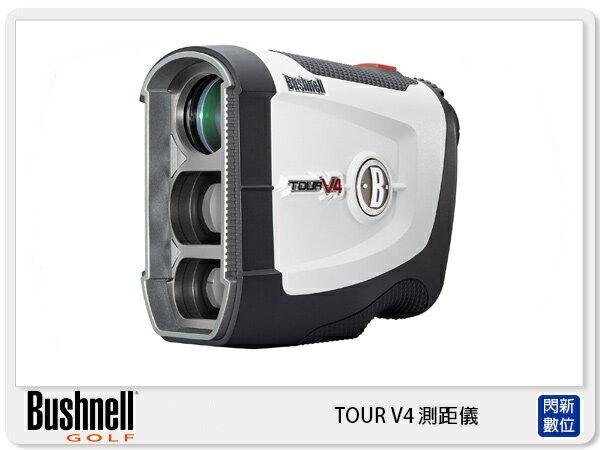 閃新科技:Bushnell倍視能TourV4雷射測距望遠鏡無坡度版高爾夫測距儀(公司貨)