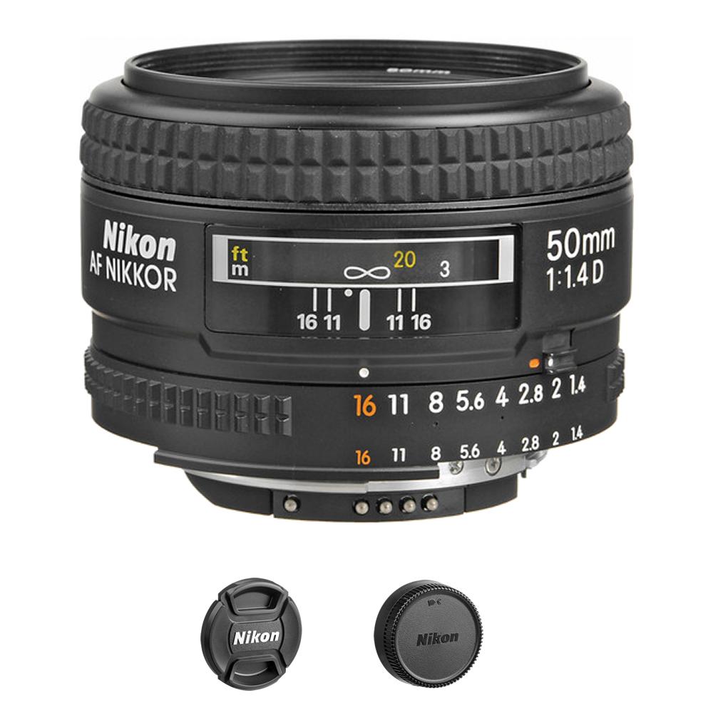 Nikon AF NIKKOR 50mm f/1.4D Autofocus Lens International Model