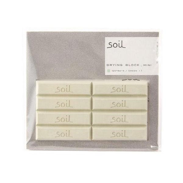 日本 Soil 珪藻土乾燥劑 長條8入 綠色 吸濕除臭可重複使用 *夏日微風*