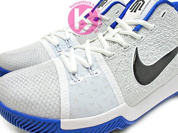 2017 Kyrie Irving 最新代言鞋款 NIKE KYRIE 3 III EP DUKE 白藍 黑勾 杜克 藍魔鬼 HYPERFUSE 鞋面 後 ZOOM AIR 氣墊 UNCLE DREW (852396-102) 0217 2