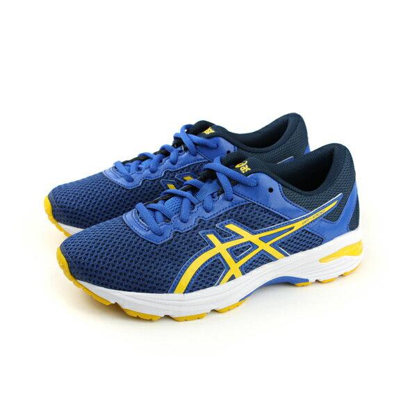 HUMAN PEACE:亞瑟士ASICSGT-10006GS運動鞋童鞋藍色大童C740N-4504no289