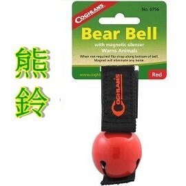 Coghlans   裝飾熊鈴 紅色   COLORED BEAR BELL WITH