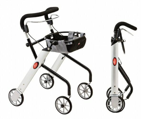 [瑞典Trust Care] Let's Go室內餐盤型步行推車(銀)●手把四段式調整 *『康森銀髮生活館』無障礙輔具專賣店 0
