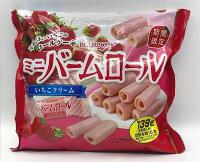 櫻桃小丸子美食甜點蛋糕推薦到[哈日小丸子]北日本迷你草莓風味蛋捲(15本/139g)就在哈日小丸子推薦櫻桃小丸子美食甜點蛋糕