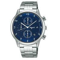 agnès b.眼鏡推薦到agnes b VD57-00A0B(BM3006J1)法式藍計時時尚腕錶/藍面39mm就在大高雄鐘錶城推薦agnès b.眼鏡