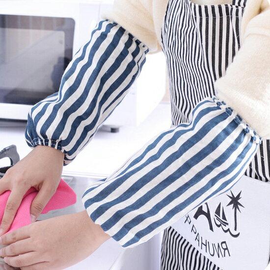 Mycolor:♚MYCOLOR♚滿版圖案麻棉袖套冬季防汙防塵時尚耐髒清潔打掃居家辦公室家務【L181】