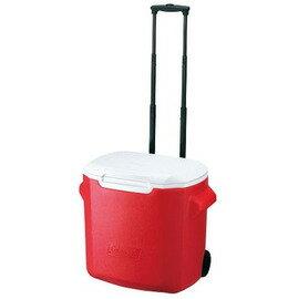 【鄉野情戶外用品店】 Coleman |美國| 26L 拖輪冰桶/冰桶 保鮮桶 保冰箱/CM-0026JM000