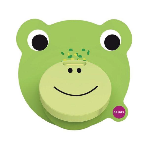 新加坡ORIBEL 創意壁貼玩具_青蛙叩叩門好窩生活節 0