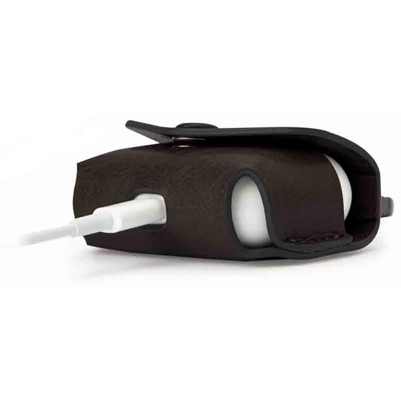源自美國 公司貨 SwitchEasy WRAP AirPods Pro 耳機殼 耳機套 皮套 皮保護套 皮質皮革保護套 7