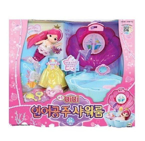 <br/><br/>  迷你MIMI人魚公主淋浴組 / Color Changing Princess Mermaid / 家家酒/ MIMI WORLD/ 伯寶行<br/><br/>