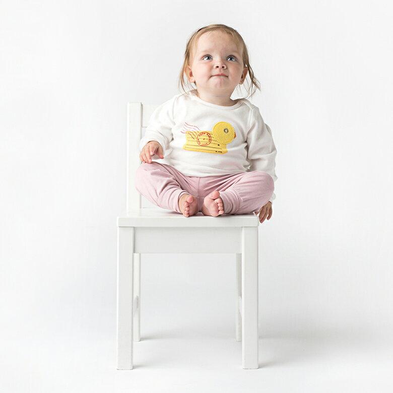 小黃鴨.T-shirt  (歐盟認證有機無毒,英國進口品牌) /嬰幼兒童裝 上衣 6~24個月2種尺寸供選擇