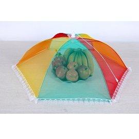 七彩飯菜罩 / 防蠅罩 / 食物罩 / 水果罩 / 餐具罩 / 小號桌罩 / 不挑色 / A128
