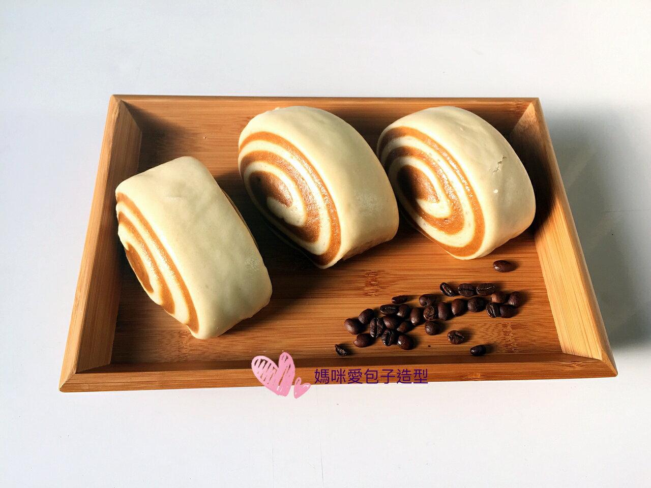 咖啡鮮奶饅頭~約550克(6入)