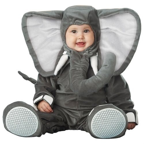 Lil' Elephant Halloween Costume - Size: 6-12 Months 0
