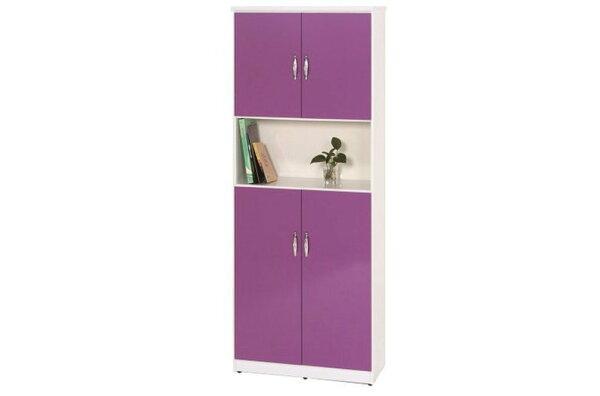 【石川家居】883-04(紫白色)鞋櫃(CT-328)#訂製預購款式#環保塑鋼P無毒防霉易清潔