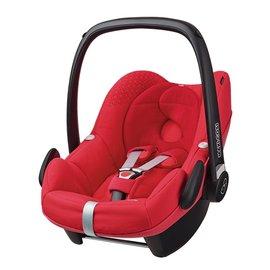 【淘氣寶寶】荷蘭 Maxi Cosi Pebble 新生兒提籃-頂級款【亮紅色】【公司貨】
