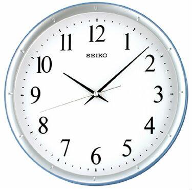 Seiko 精工鐘 (QXA378L)大數字滑動指針夜光標準鐘/31*4.4cm