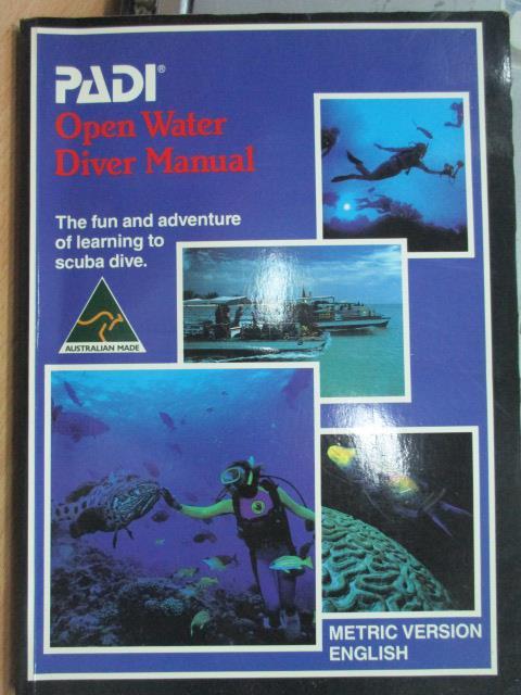 ~書寶 書T4/原文書_YGB~Open water diver manual_1990