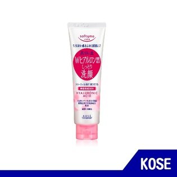 RH shop:日本KOSE高絲softymo玻尿酸特淨洗顏霜150g【RHshop】日本代購