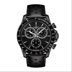 TISSOT天梭錶T1064173605100 QUICKSTER 經典計時錶/黑面42mm