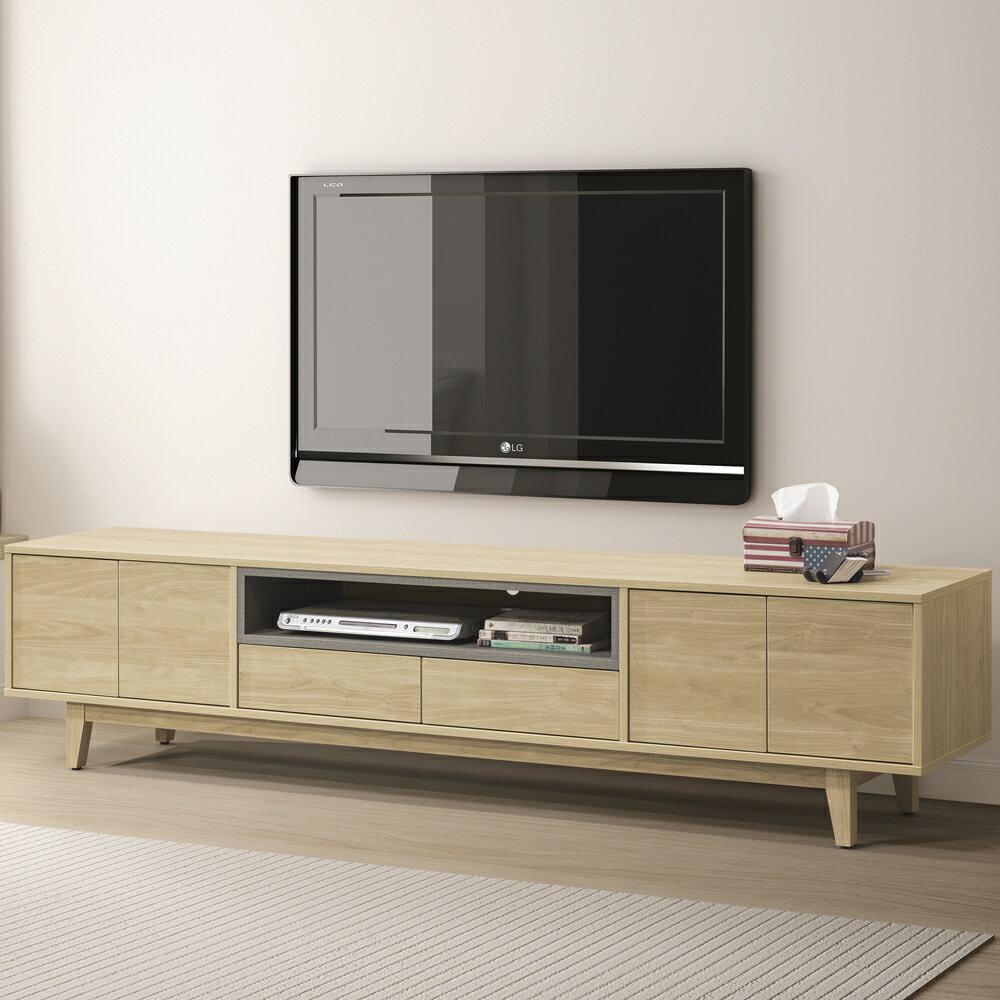 【日本直人木業】VIEW北美楓木212電視櫃
