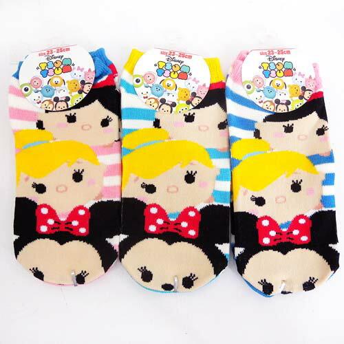 ~真愛 ~15061900032 踝襪~茲姆米妮公主條紋 迪士尼 米老鼠米奇 米妮 襪子