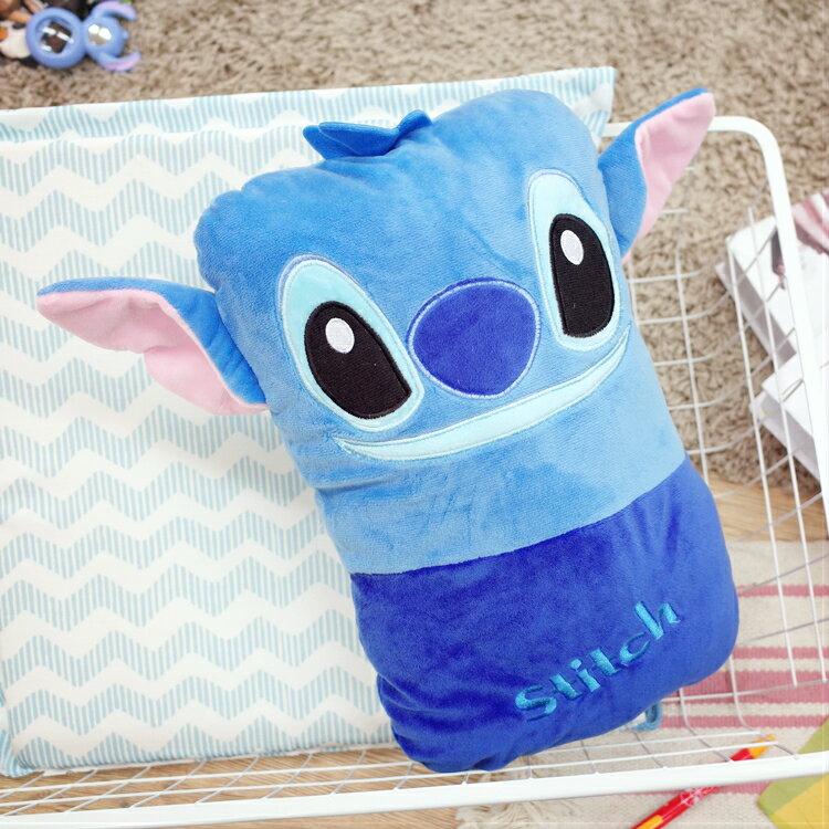 PGS7 迪士尼系列商品 - 迪士尼 史迪奇 星際寶貝 Stitch 長方形 小抱枕 玩偶 娃娃【SJK7178】