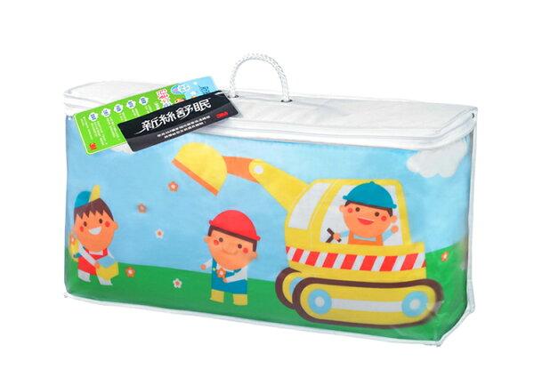 ★免運★3M新絲舒眠兒童午安被睡袋-汽車(3-6歲適用)★Safetylite★