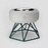 SPUTNIK 寵物碗架 Cozy Cement Bowl - 白水泥+綠架(M1) Pet's Talk 1