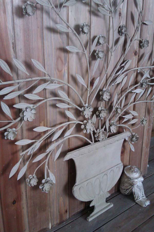 你可居 復古做舊 鐵藝花樹 墻飾 超大尺寸 入