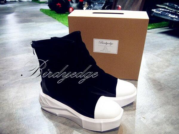 BIRDYEDGE原裝厚底鞋鬆糕男鞋高筒增高鞋厚底5CM超厚底男靴子鞋子高筒靴馬丁
